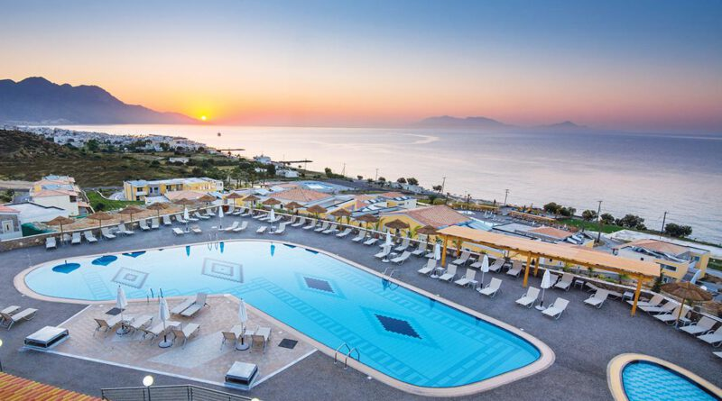 Impressie Hotel Grand Blue Beach Resort - Vakantie Kardamena
